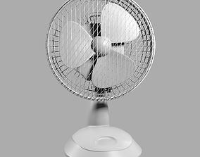 High Poly Fan 3D model