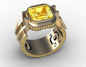 Ring for Women Citrus Effect 3D print model