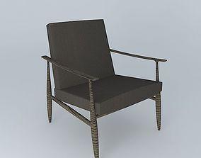 Lounge Swedish 3D model