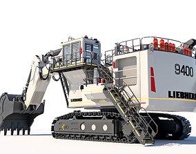 Liebherr R9400 Excavator -3D Model