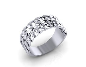3D print model Beautiful ring diamond-ring
