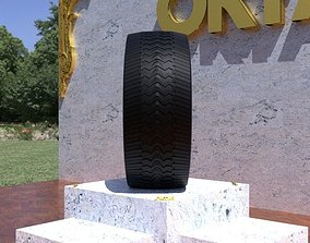 ORTAS TIRE NO 44 GAME READY 3D model