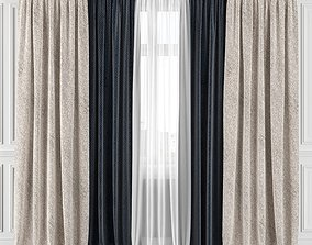 3D Curtain Set 176C