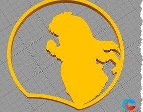 3D printable model Disney Inspired Mouse Ears - Beast 2