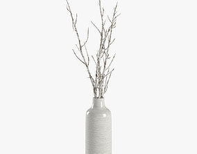 Paper branches 3D model