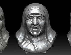 MOTHER Teresa 3D print model