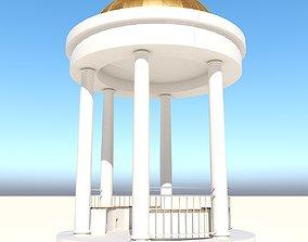 Rotunda pavilion 3D model