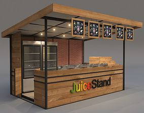 Juice Stand For Outdoor And Shopping Malls 3D