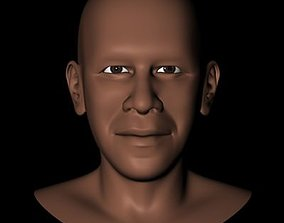 President Barack Obama Head 3D
