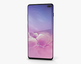 3D Samsung Galaxy S10 Plus Prism Black droid