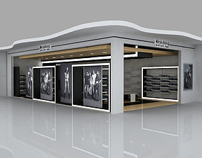retail interior design 3D