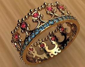 gem Ring Diadem 3D printable model