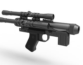 Blaster pistol SE-14C from the movie Star Wars A New 3D