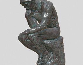 3D printable model Roden The Thinker sculpture