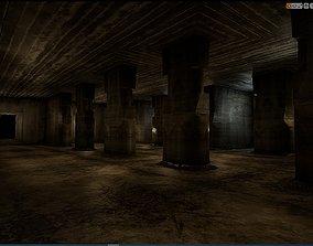 3D asset Old Concrete Wall 01 11 D