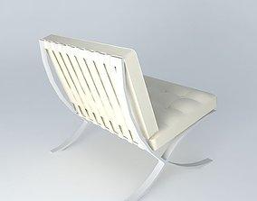 barcelona-chair Barcelona Chair 3D