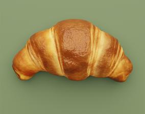 food Croissant 3D