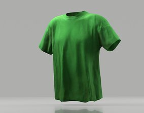 T-shirt 3D model low poly game-ready