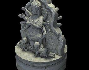 low-poly Angkor Wat Games res model 01