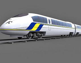 Speed Train 1 3D