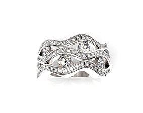 3D print model Fancy Ring luxury