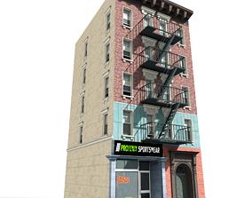 3D model Nyc Building 01