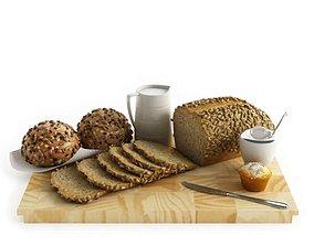 3D Reverse Grain Wooden Breadboard