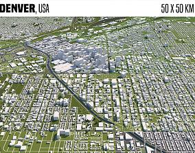 Denver 3D model