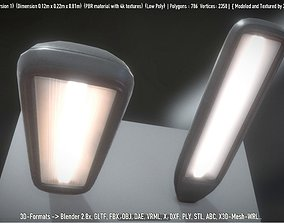 Street Light -11- Low-Poly Version -1- 3D asset