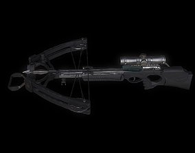 crossbow model 3D asset
