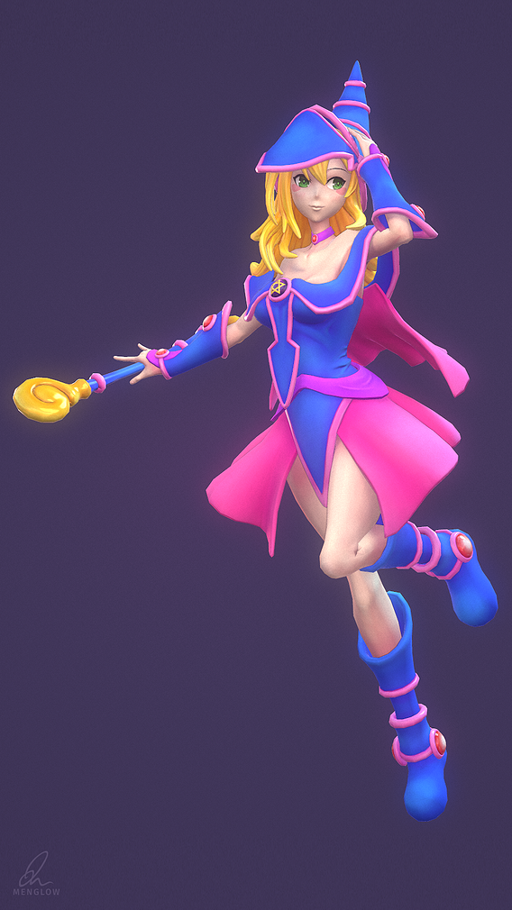Dark Magician Girl (Stylized)