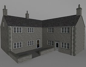 british uk cotswold stone house converted 3D model