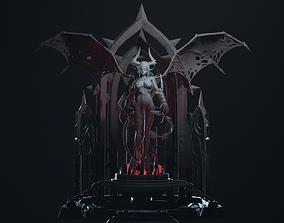 Demon Girl 3D print model