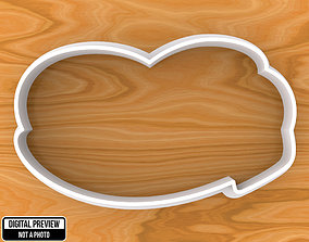 Mickey Mouse Shoe Boot Cookie Cutter 3D printable model