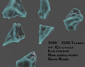 3D asset Crystal Set