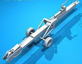 3D Airport tow bar