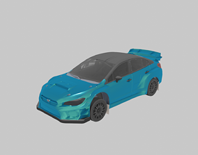 3D asset Rally Car Stx