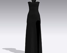 DRESS DRESS clothing fashion 3D