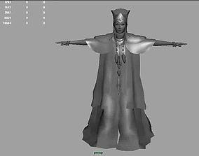Star Gate Woman AAA 3D model