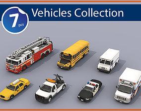 Service Vehicles 3D