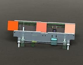 3D model Belt conveyor belt