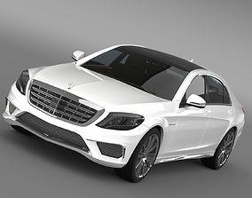 Mercedes Benz S 65 AMG Lang V222 2016 3D model