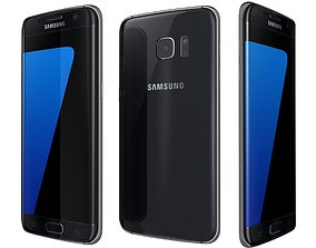 Samsung Galaxy S7 Edge Black 3D model
