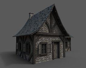 Medieval House 2 3D model