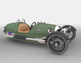 3D model vehicle Morgan 3 wheeler 2010