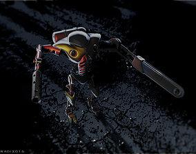 3D Warbot like shredder