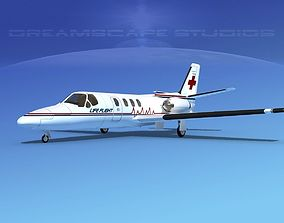 Cessna 500 Citation I V14 3D model