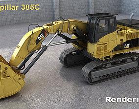 3D Caterpillar 385C