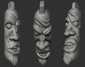 3D printable model Rock Head Face