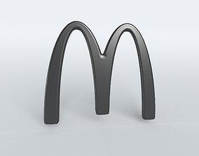 Mcdonald Logo 02 3D model